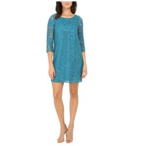 NEW Jack By BB Dakota Lace 3/4 Sleeve Shift Dress